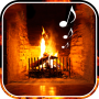 icon Fireplace Live Wallpaper