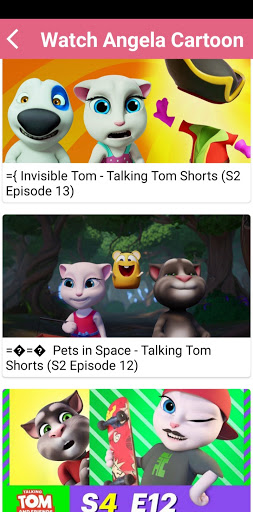 Cartoon Video - Talking Tom Cartoon