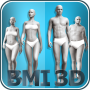 icon BMI 3D - Body Mass Index in 3D