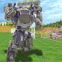 icon Earth Robot Battle
