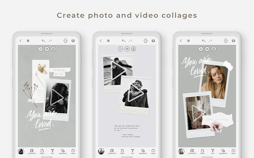 Graphionica Photo & Video Collages: sticker & text