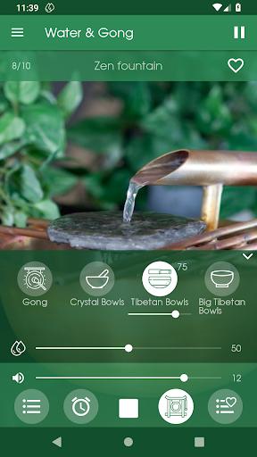 Water & Gong ~ Relaxing Sounds