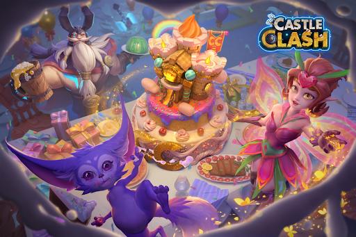 Castle Clash Fearless Teams