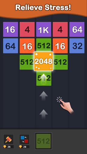Merge Block & 2048 Puzzle Game