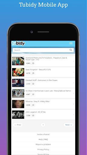 Official Tubidy Mobi MP3 Music