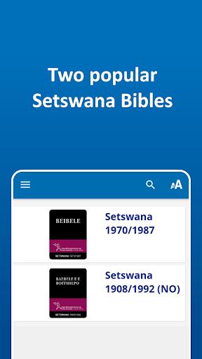 The Bible in Setswana - Tswana Bibles