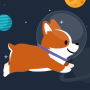 icon Space Corgi - Dogs and Friends