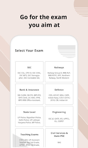 Free Online Test for All Exams