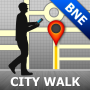 icon Brisbane Map and Walks