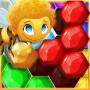 icon Honeycomb Puzzle - Hexagon blocks