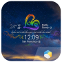 icon Rainbow Love theme widget