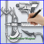 icon How To Draw Weapon