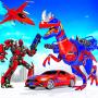 icon Flying Dino Robot Transforming Game 2021