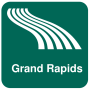 icon Grand Rapids Map offline