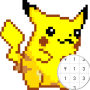 icon Pokezz Color by number - Art Pixel Coloring