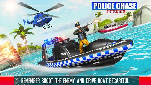 Border Patrol Police Chase Games: Police Cop Games
