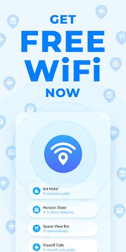 WiFi Map — Free Passwords