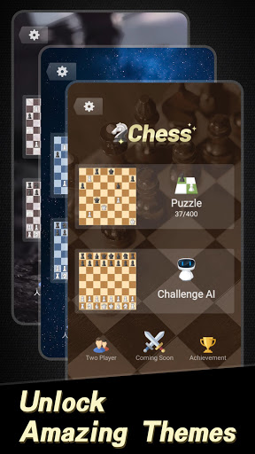 Chess: Classic strategy board puzzle game for free