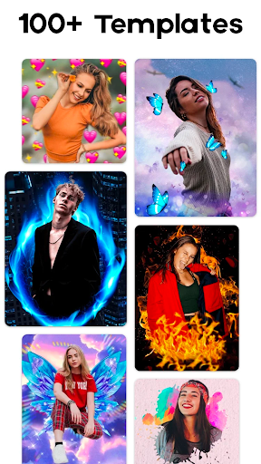 Neon Photo Editor - Photo Effects, Collage Maker