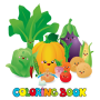 icon Fruit-Vegetable Coloring