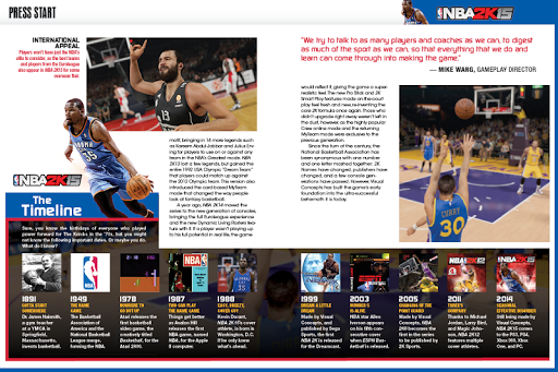 LAUNCH DAY (NBA 2K15)