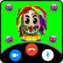 icon Fake video call Tekashi 6ix9ine