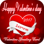 icon Valentine Greeting Card 2017
