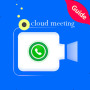 icon Zoom Guide for Cloud Meetings Video Conferences