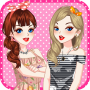 icon Best Friends Dress Up Game