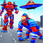 icon Spider Gorilla Robot Transform Rope Hero: Car Game