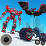 icon Flying Bat Bike Robot Transform Games 2021