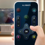 icon Universal remote tv - fast remote control for tv