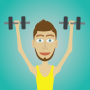 icon Muscle clicker 2: RPG Gym game