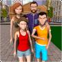 icon Happy Virtual Family: Prank Hero Family Games 3D