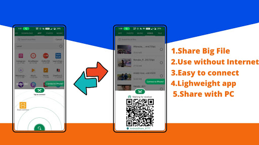 New Indian File Transfer :- Share Music & Videos