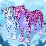 icon Snow Leopard Family Sim Online