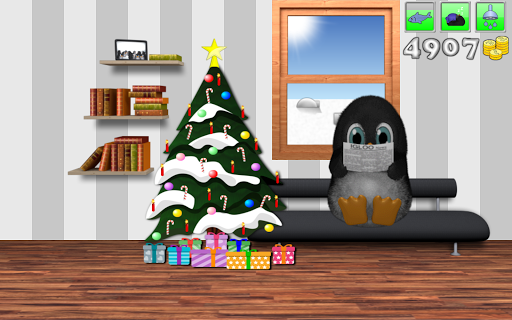 Puffel the penguin