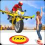 icon Futuristic Flying Bike Taxi Simulator Driver