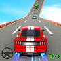 icon Muscle Car Stunts 2020: Mega Ramp Stunt Car Games
