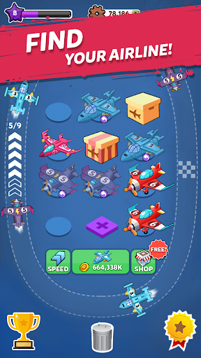 Merge Airplane 2: Plane & Clicker Tycoon