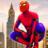 icon Flying Spider Super Hero 1.3