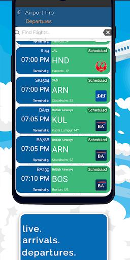 Madrid Airport +Flight Tracker