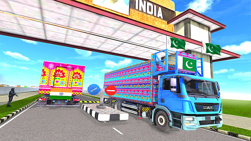 Indo Pak Truck Driver: Offroad Truck Driving Games