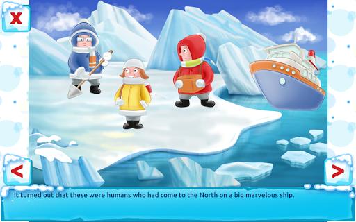 Polar Bear Cub - Fairy Tale with Games Free