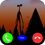 icon Call Siren Head Video Call & Chat (Simulation)