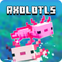 icon Mod Axolotls Mobs for Minecraft PE