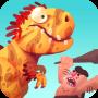 icon Dino Bash - Dinos v Cavemen