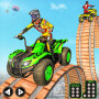 icon Atv Quad Bike Stunts Racing- New Bike Stunts Game