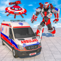 icon Flying Ambulance Rescue Robot