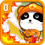 icon Little Panda Fireman